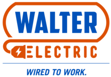walter electric logo stacked